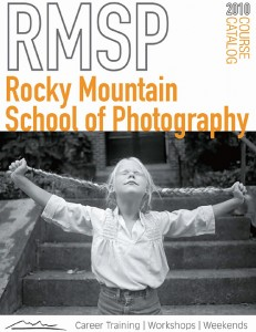 Rocky Mountain School of Photography - Catalog Cover
