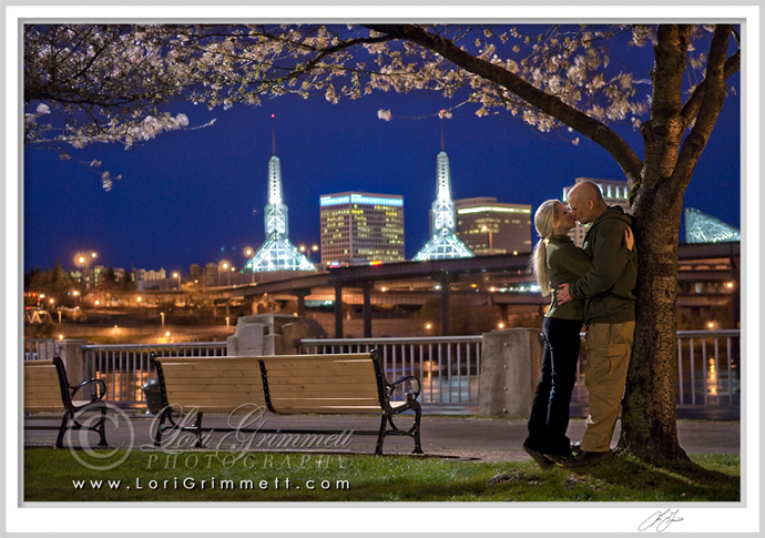Kiss Under the Cherry Blossoms