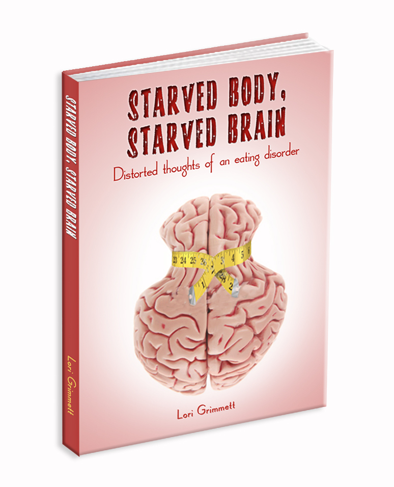 Book: Memoir: My personal journey through the distorted thoughts of an eating disorder.