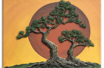 Impasto – Bonsai with Sun – One